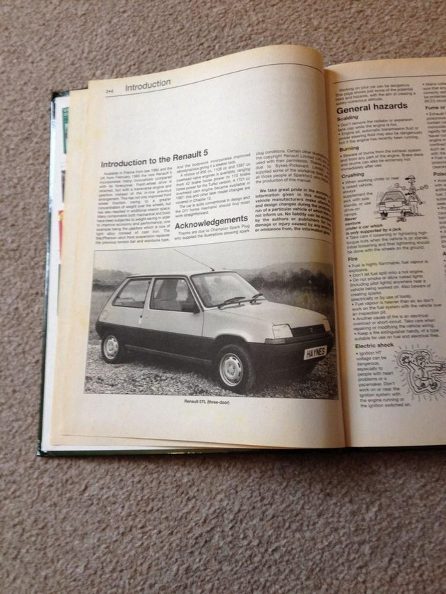 Haynes manuals used motoring accessories buy and sell in the uk renault 5 haynes manual fandeluxe Images