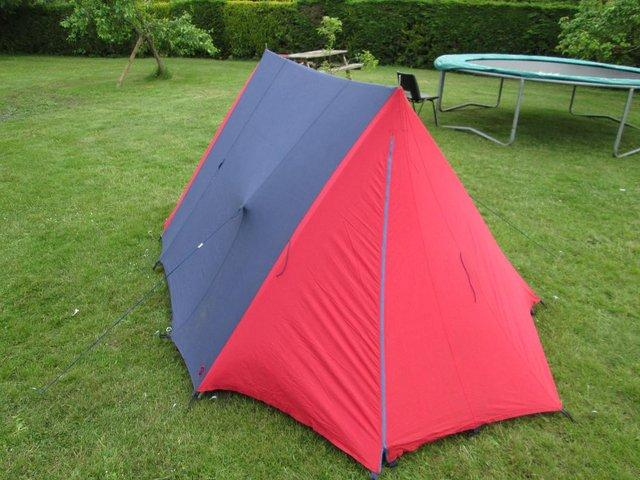 Heavy duty Cotton ridge tent with superior quality built-in groundsheet. Duke of Edinburghu0027s Scheme Official pattern. One of the best 2 man tents Iu0027ve seen ... & tent cotton - Used Tents Buy and Sell in the UK and Ireland ...