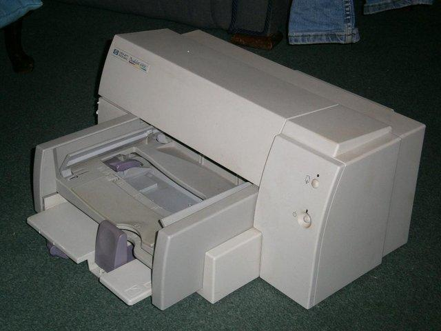 Preview of the first image of HP Deskjet 690C Printer.