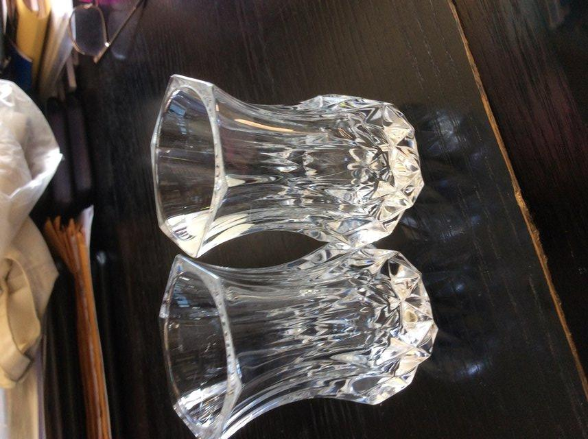 2 Small Crystal Vases For Sale In Manchester Lancashire Preloved