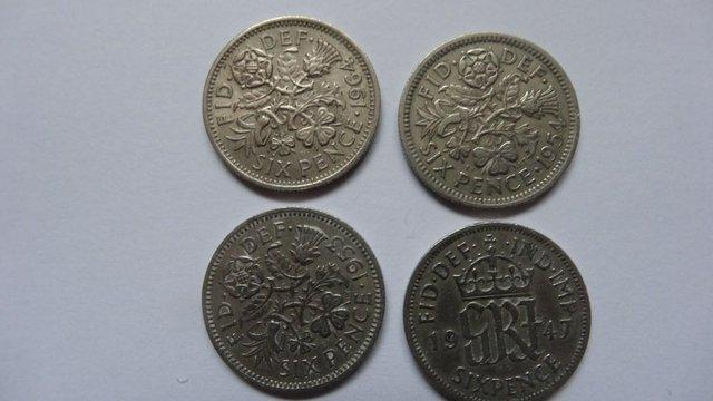 Preview of the first image of Six Pence Coins..