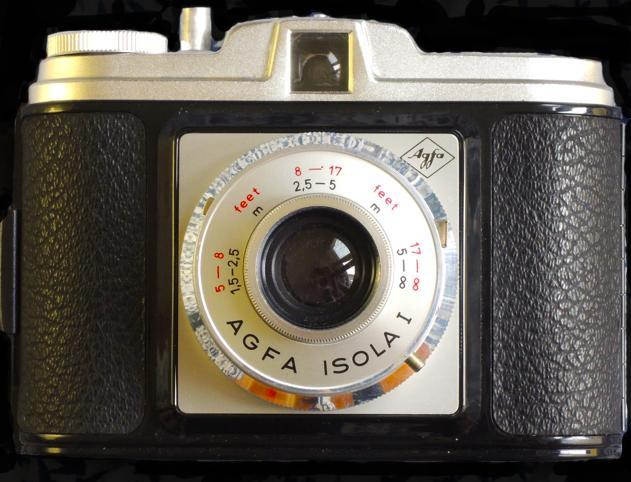 Preview of the first image of Agfa Isola I Vintage Camera for Sale.