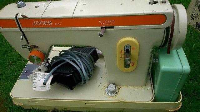 Jones Electric Sewing Machine For Sale In Sittingbourne Kent Preloved Impressive Jones Sewing Machine