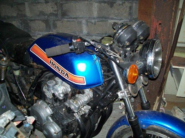 Preview of the first image of 1982 honda cb900 parts.