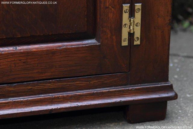 Image 47 of TITCHMARSH AND GOODWIN OAK DRESSER BASE SIDEBOARD HALL TABLE