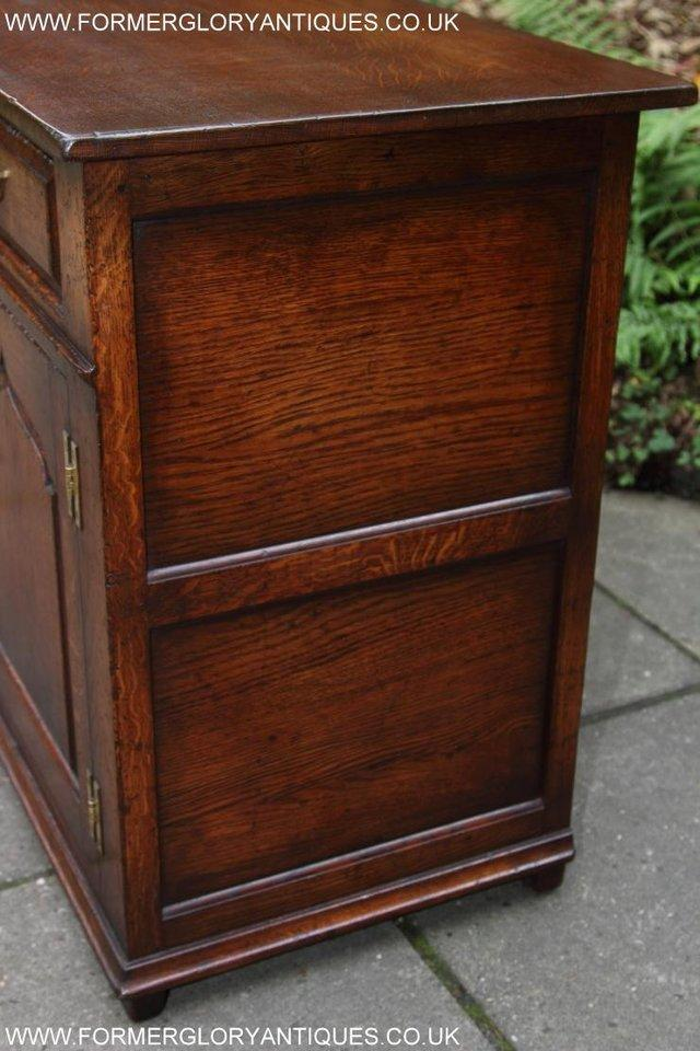 Image 54 of TITCHMARSH AND GOODWIN OAK DRESSER BASE SIDEBOARD HALL TABLE