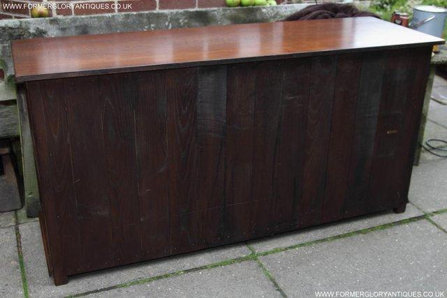 Image 59 of TITCHMARSH AND GOODWIN OAK DRESSER BASE SIDEBOARD HALL TABLE