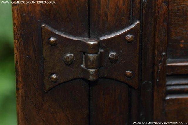 Image 7 of TITCHMARSH GOODWIN OAK DRESSER BASE SIDEBOARD TABLE CABINET