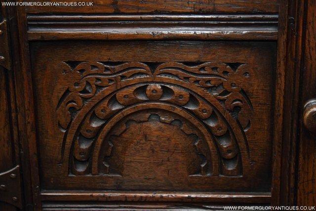 Image 10 of TITCHMARSH GOODWIN OAK DRESSER BASE SIDEBOARD TABLE CABINET