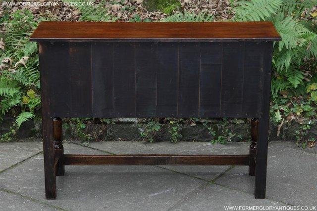Image 14 of TITCHMARSH GOODWIN OAK DRESSER BASE SIDEBOARD TABLE CABINET