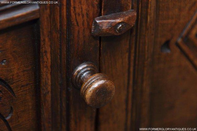 Image 17 of TITCHMARSH GOODWIN OAK DRESSER BASE SIDEBOARD TABLE CABINET