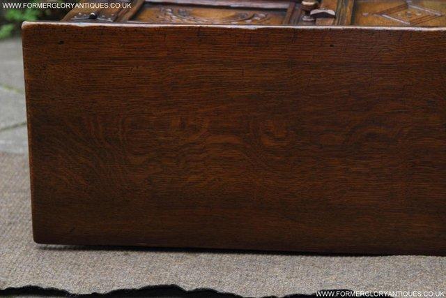 Image 46 of TITCHMARSH GOODWIN OAK DRESSER BASE SIDEBOARD TABLE CABINET