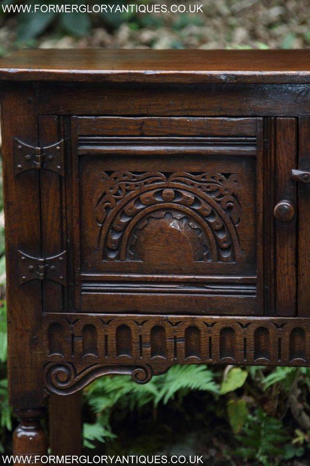 Image 52 of TITCHMARSH GOODWIN OAK DRESSER BASE SIDEBOARD TABLE CABINET