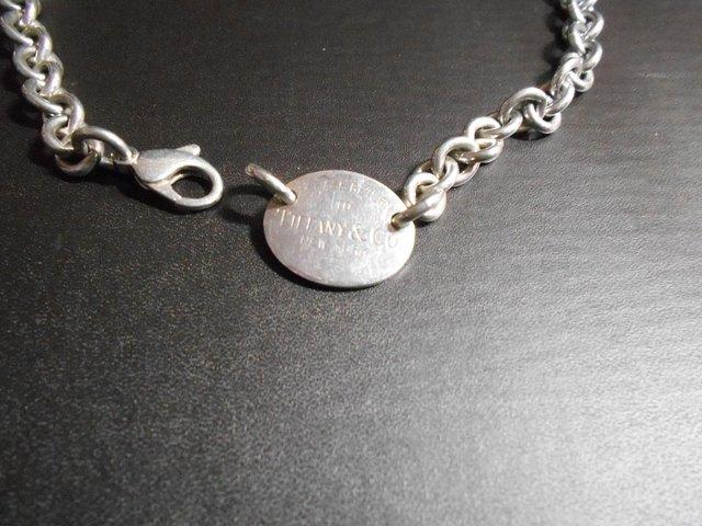 891cefed8be5f TIFFANY & Co OVAL TAG NECKLACE For Sale in London, Greater ...