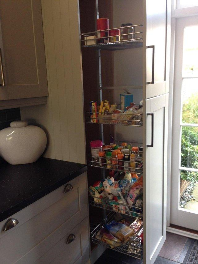 Hafele Kitchen Pull Out Larder Unit For Sale In Deal Kent