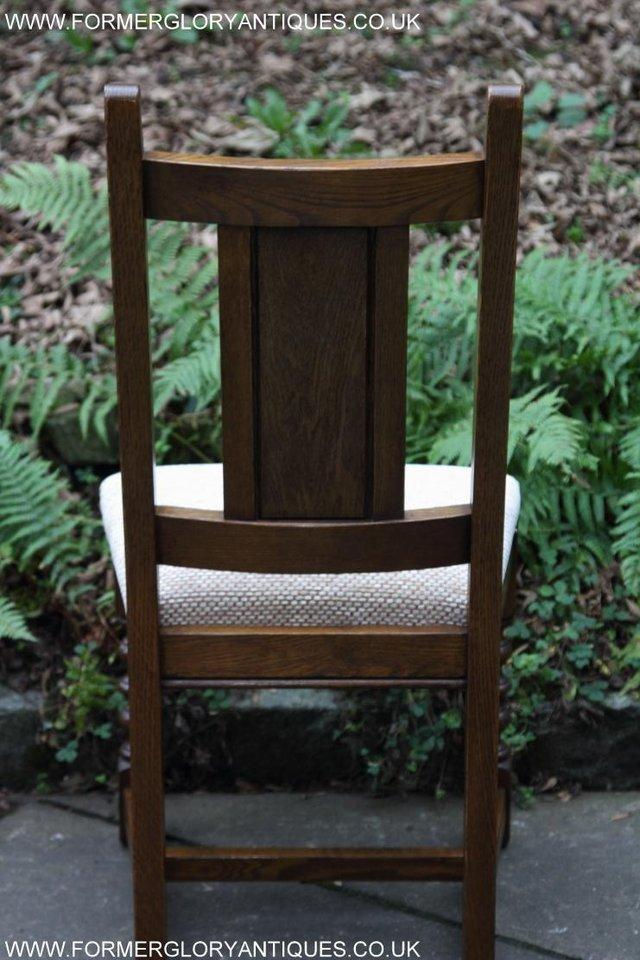 Image 16 of SIX OLD CHARM JAYCEE LIGHT OAK KITCHEN TABLE DINING CHAIRS