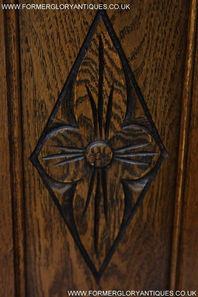Image 26 of SIX OLD CHARM JAYCEE LIGHT OAK KITCHEN TABLE DINING CHAIRS