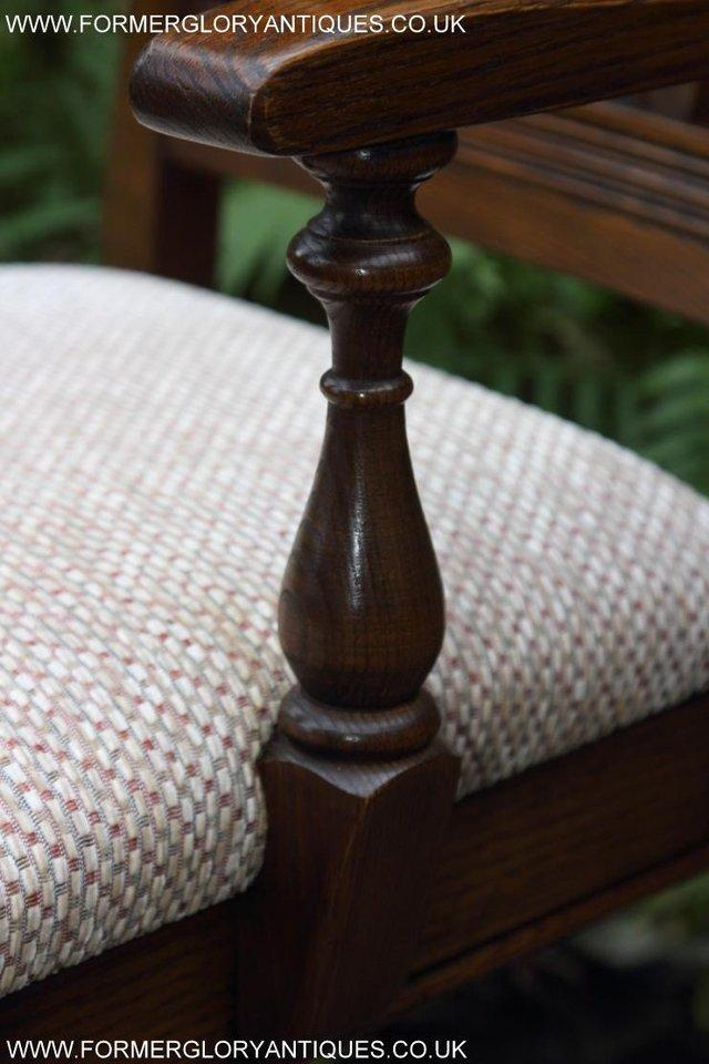Image 28 of SIX OLD CHARM JAYCEE LIGHT OAK KITCHEN TABLE DINING CHAIRS