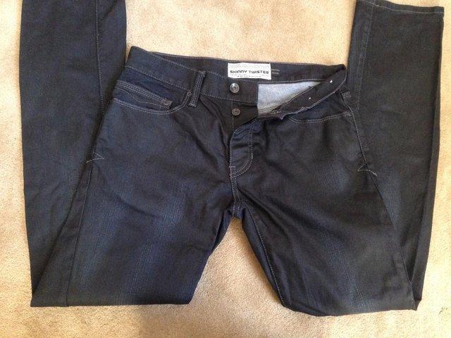 Topman skinny twister jeans