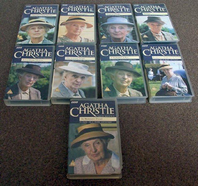 Preview of the first image of 9 Agatha Christie Videos.