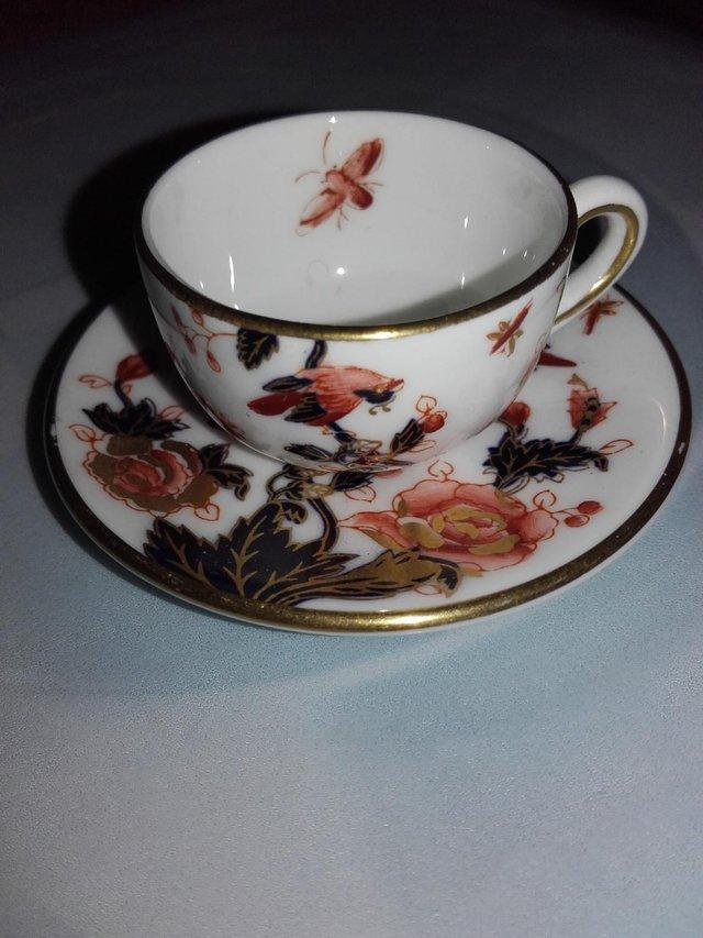 Preview of the first image of Miniature Coalport Cup and Saucer.