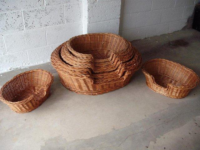 Image 2 of Traditional hand made Wicker baskets