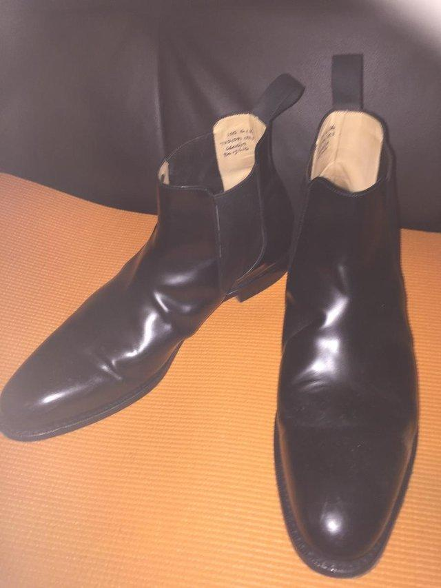 Image 3 of Church's Classic Black Beijing Chelsea Boots