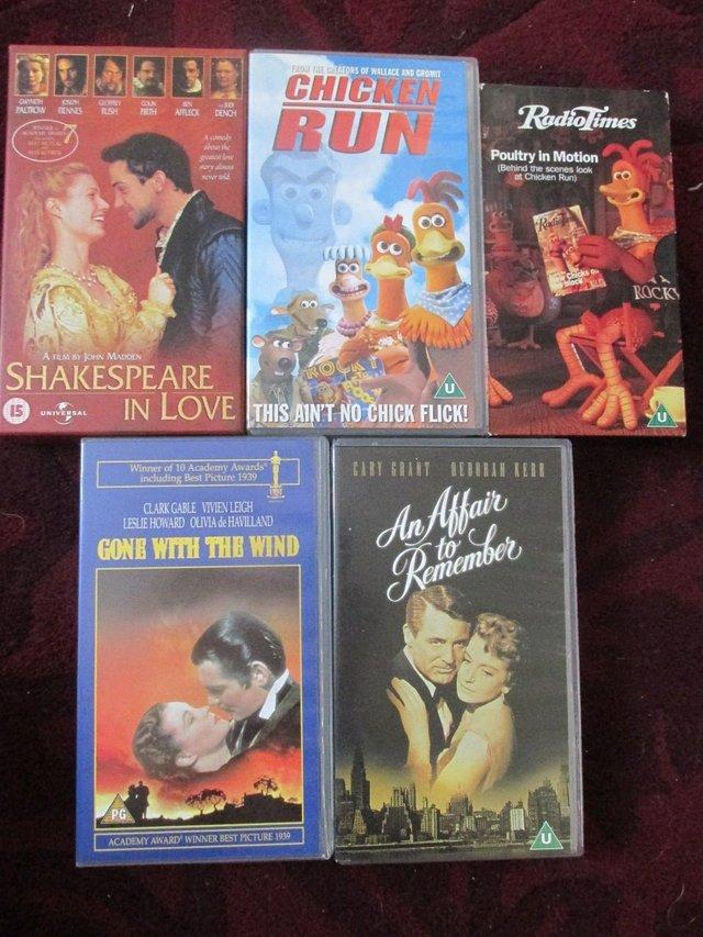 COLLECTION OF VHS TAPES - FILMS, COMEDY ETC For Sale in