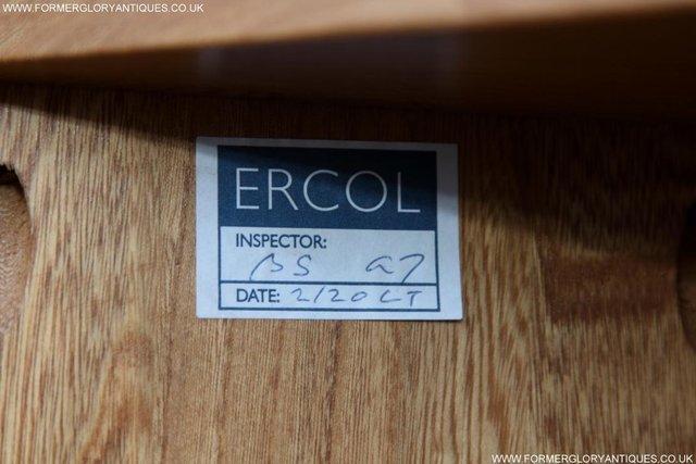 Image 39 of ERCOL WINDSOR LIGHT ELM CORNER TV CABINET STAND TABLE UNIT
