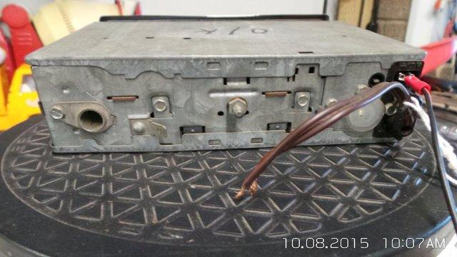 Image 2 of classic car Blaupunkt old 1970s/80s push button radio