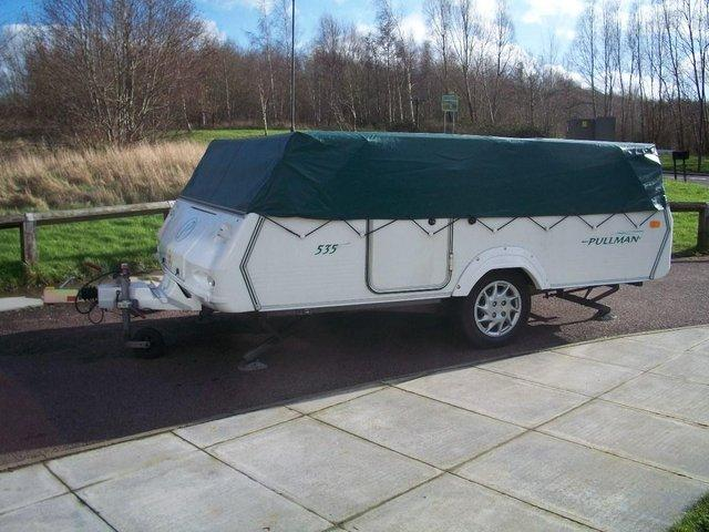 Preview of the first image of ALLWAYS WANTED CONWAY OR PENNINE FOLDING CAMPERS.