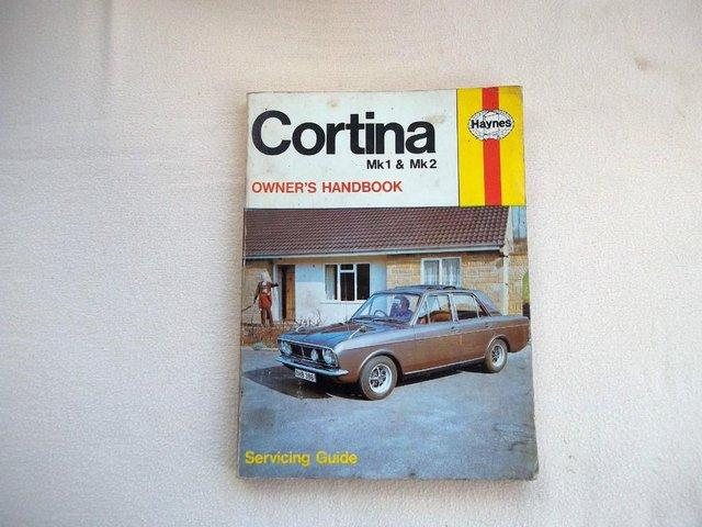 Preview of the first image of Ford Cortina Mk1 & Mk2 owners handbook..