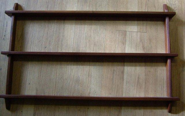 Wall Mounted 3 Level Plate Display Rack With Grooves & wall mounted plate rack - Local Classifieds Buy and Sell in ...