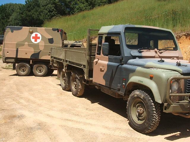 land rover 6x6,perentie military defender 110 For Sale in Piggabeen ...