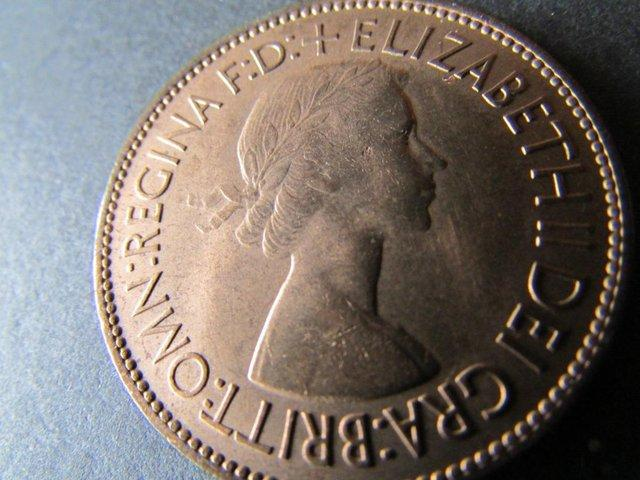 Preview of the first image of 1953 ELIZABETH II PENNY KEY DATE..