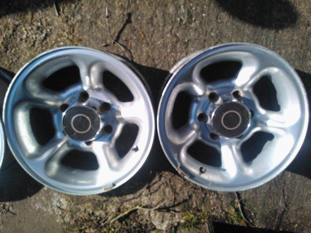 Image 3 of Vauxhall Frontera Nautilus alloy wheels