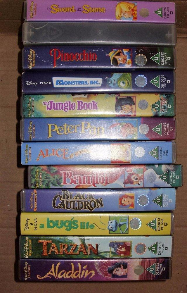 Disney Videos Second Hand Vhs Videos Buy And Sell In