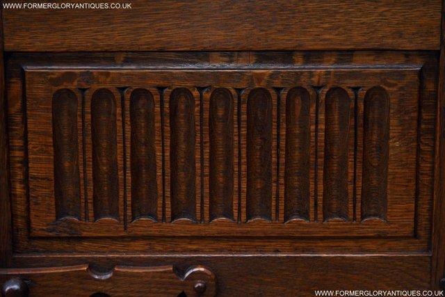 Image 12 of NIGEL RUPERT GRIFFITHS OAK CORNER CABINET CUPBOARD SHELVES