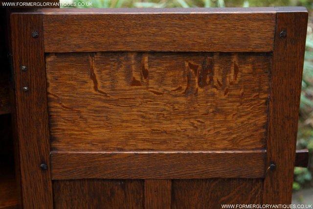 Image 15 of NIGEL RUPERT GRIFFITHS OAK CORNER CABINET CUPBOARD SHELVES