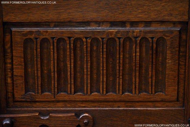 Image 29 of NIGEL RUPERT GRIFFITHS OAK CORNER CABINET CUPBOARD SHELVES