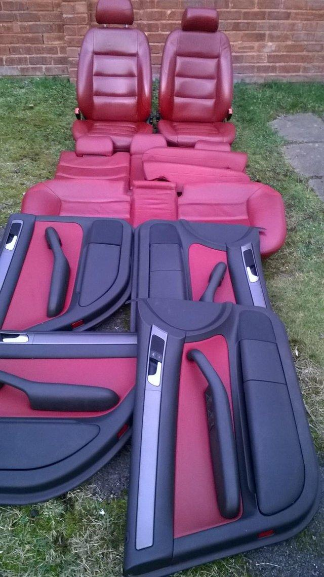 used leather car seats used car parts preloved. Black Bedroom Furniture Sets. Home Design Ideas