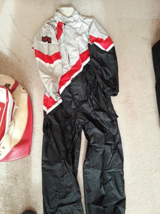 Preview of the first image of Full Motorcycle Suit water proof.