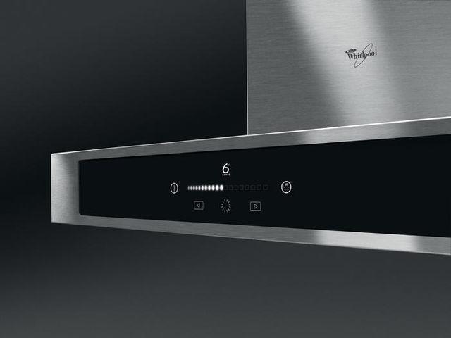Preview of the first image of WHIRLPOOL FUSION 6TH SENSE 90CM CHIMNEY EXTRACTOR HOOD! NEW!.