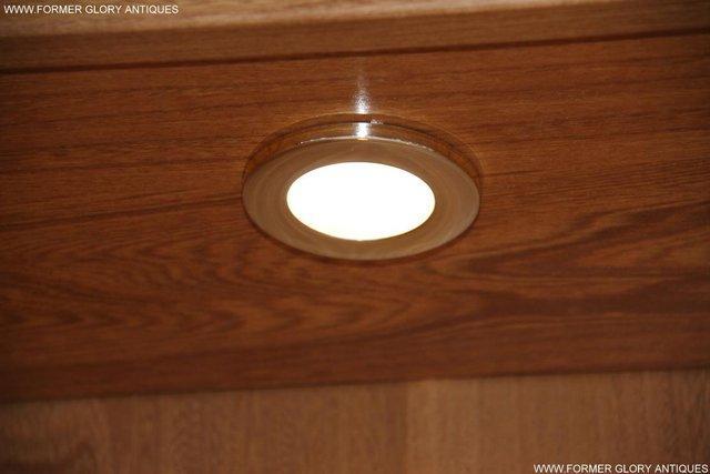 Image 18 of ERCOL LIGHT ELM DISPLAY CABINET CUPBOARD SIDEBOARD DRESSER