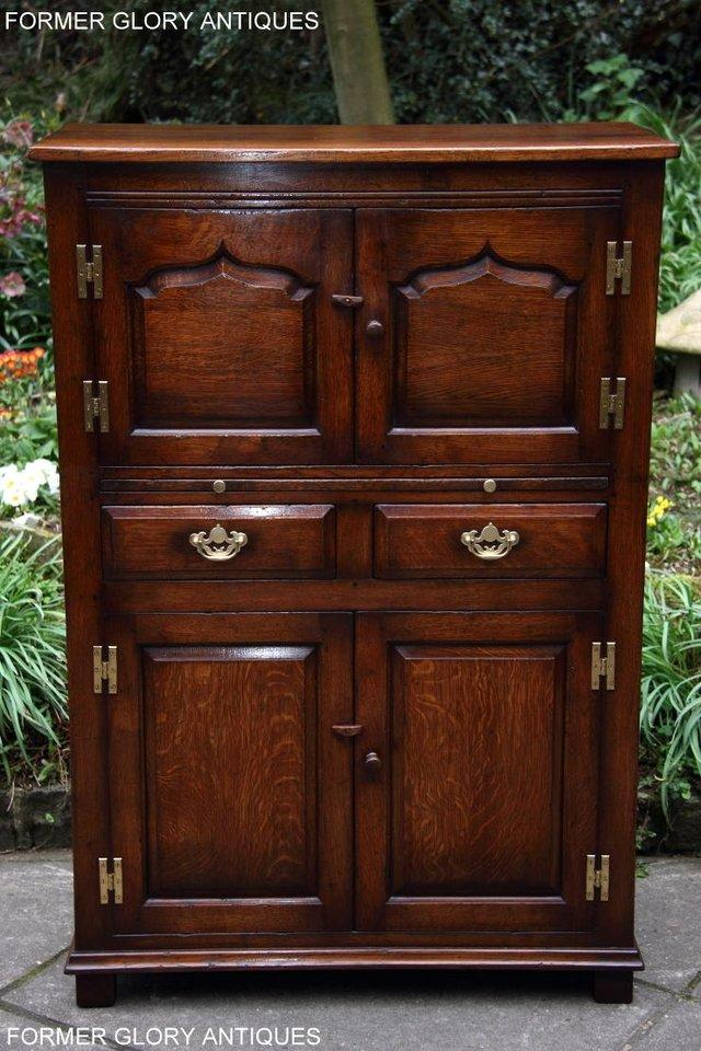 Image 8 of TITCHMARSH & GOODWIN SERVING TABLE DRINKS WINE CABINET STAND