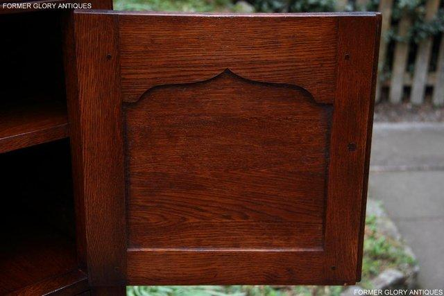 Image 12 of TITCHMARSH & GOODWIN SERVING TABLE DRINKS WINE CABINET STAND