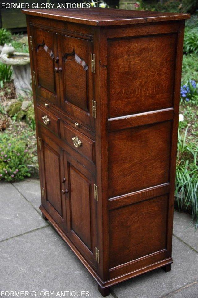 Image 14 of TITCHMARSH & GOODWIN SERVING TABLE DRINKS WINE CABINET STAND