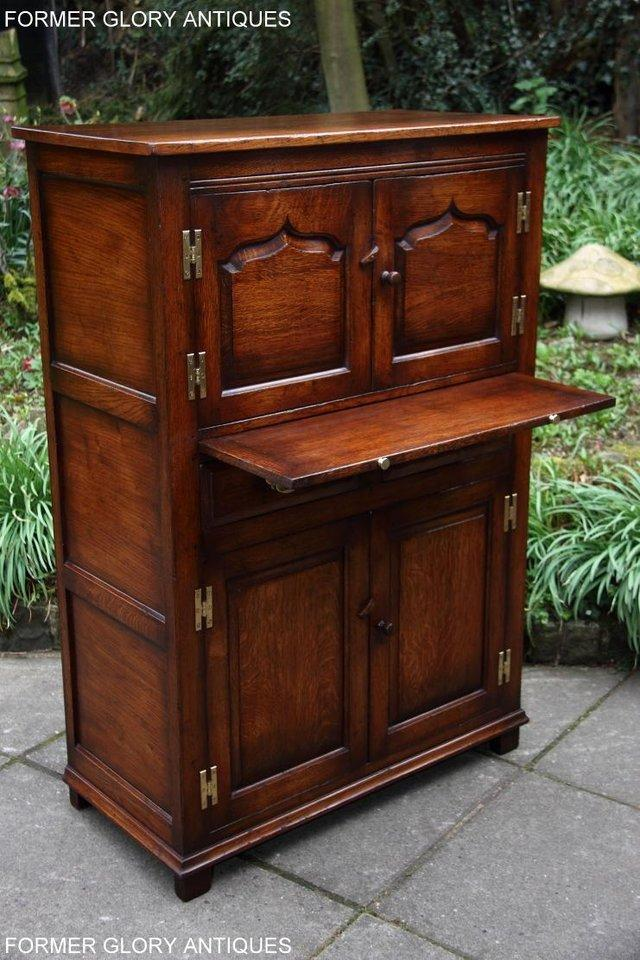 Image 17 of TITCHMARSH & GOODWIN SERVING TABLE DRINKS WINE CABINET STAND