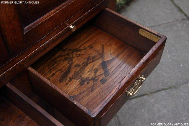 Image 18 of TITCHMARSH & GOODWIN SERVING TABLE DRINKS WINE CABINET STAND