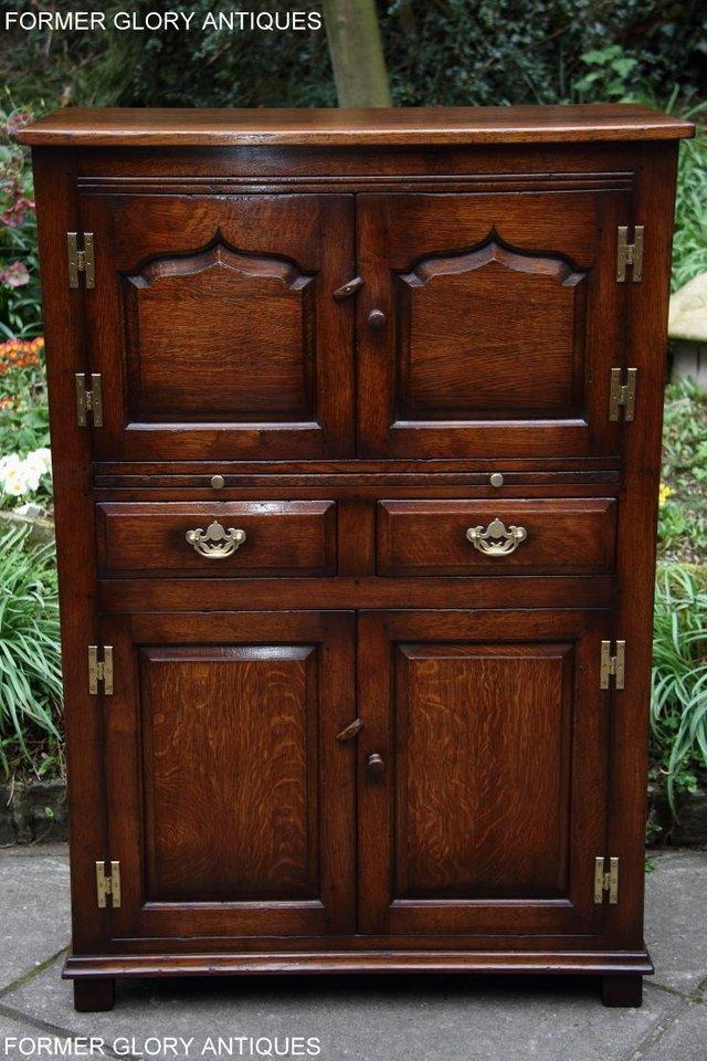 Image 19 of TITCHMARSH & GOODWIN SERVING TABLE DRINKS WINE CABINET STAND
